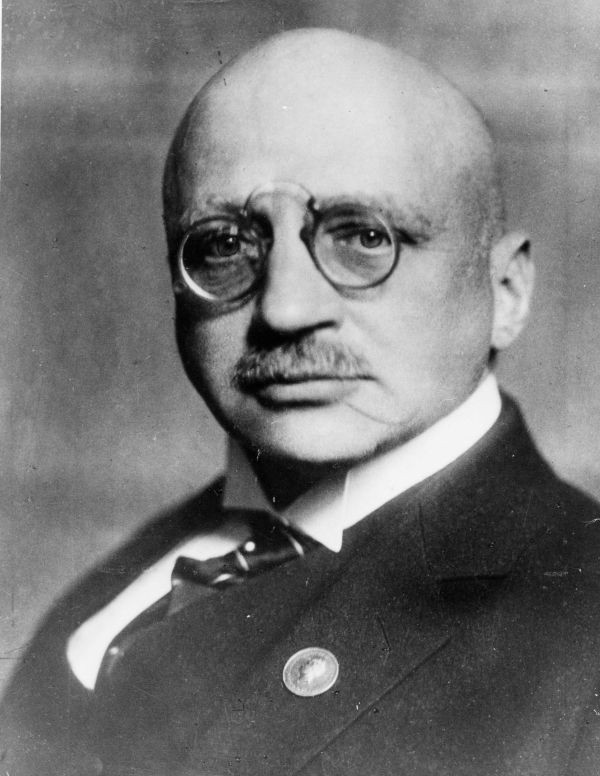 Chân dung chủ nhân giải Nobel hóa học năm 1918, Fritz Haber.