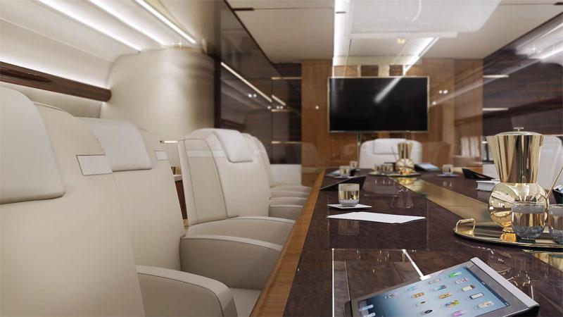Máy bay này có giá 367 triệu USD, chưa tính nội thất bên trong.