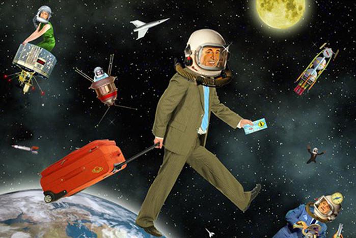 Theo dự đoán của Nostradamus, trong hai năm tới, du lịch không gian sẽ trở thành một trong những dịch vụ thương mại hái ra tiền của nhiều quốc gia.