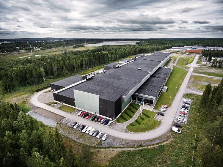 Facebook's giant data center in the Arctic Circle