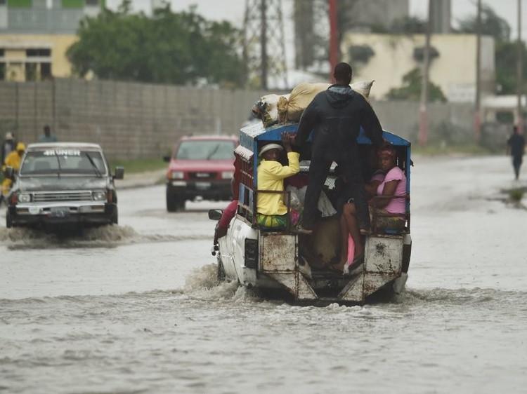 Cơn bão đã gây ra nhiều thiệt hại cho Haiti.