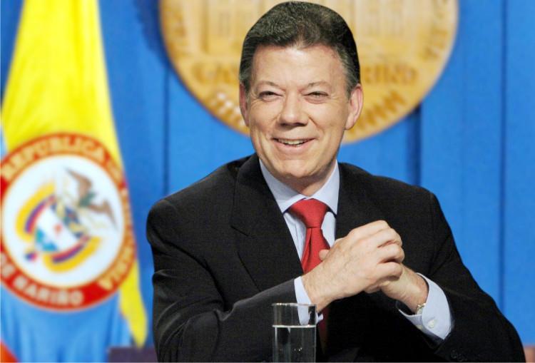 Tổng thống Columbia Juan Manuel Santos