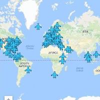 Tấm bản đồ hữu ích giúp truy cập wifi miễn phí ở mọi sân bay