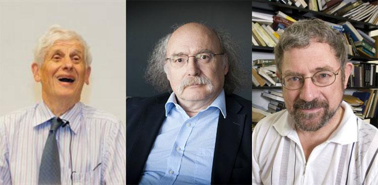 3 nhà khoa học dành giải Nobel vật lý năm 2016.
