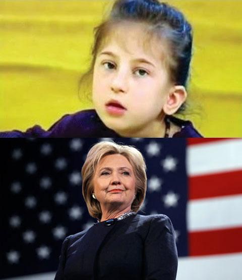 Ứng cử viên đảng Dân chủ Hilary Clinton sẽ đắc cử tổng thống Mỹ theo lời dự đoán của cô bé Kaede Uber.