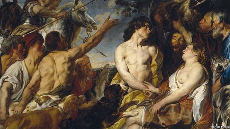 Bức tranh từ thế kỷ 17 của họa sỹ Jacob Jordaens có giá khoảng 4 triệu USD.