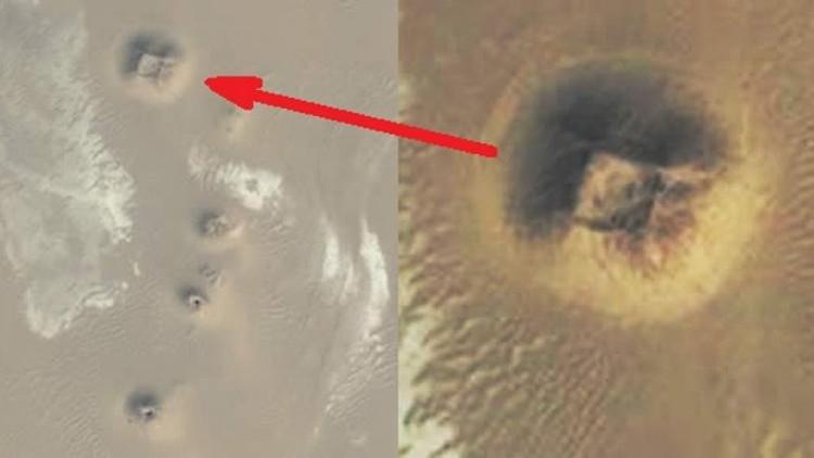 Hình ảnh Google Earth khiến nhiều người tin đây là một kim tự tháp chưa được khám phá tại Ai Cập.