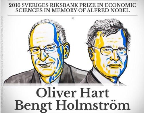 Hai nhà kinh tế được trao giải Nobel 2016