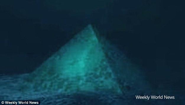Kim tự tháp có thể là nguyên nhân dẫn đến những vụ máy bay mất tích bí ẩn khi bay ngang qua Bermuda.