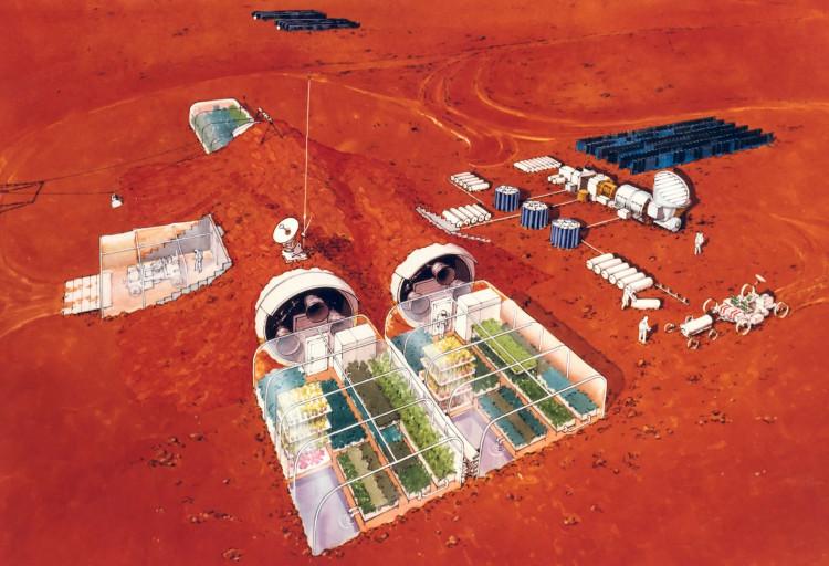 Con người có thể định cư vĩnh viễn trên sao Hỏa vào năm 2027.