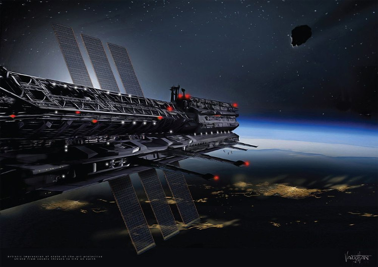 Let's register to become a member of the cosmic city Asgardia next year