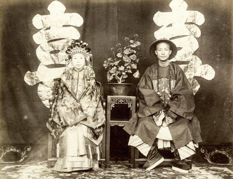 Một lễ cưới điển hình của thời nhà Thanh, giữa cô dâu Zeng Ji Fen và chú rể Nie Ji Gui, được tổ chức năm 1875.
