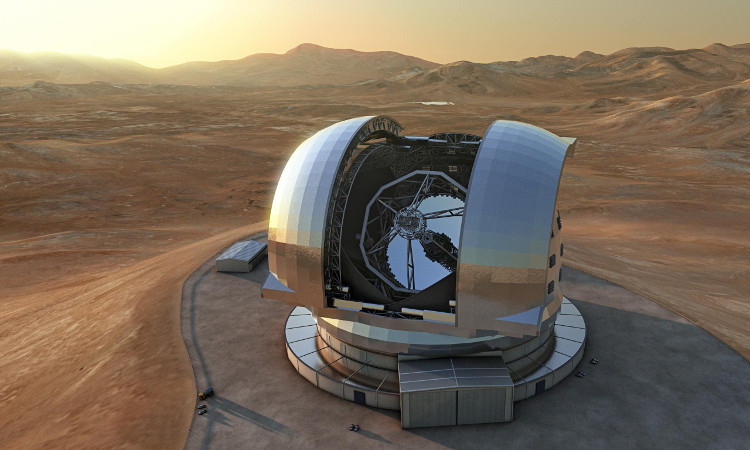 Kính thiên văn lớn tại châu Âu với độ phân giải góc 0,01 giây cung, tức là gấp 6000 lần mắt người.