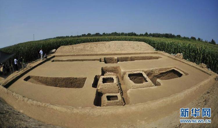 Nhiều bộ hài cốt trẻ em được khai quật tại khu di tích khảo cổ ở tỉnh Hà Bắc, Trung Quốc.