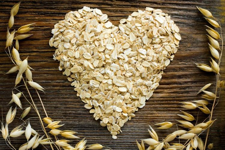 Ngũ cốc nguyên cám rất tốt cho tim mạch.
