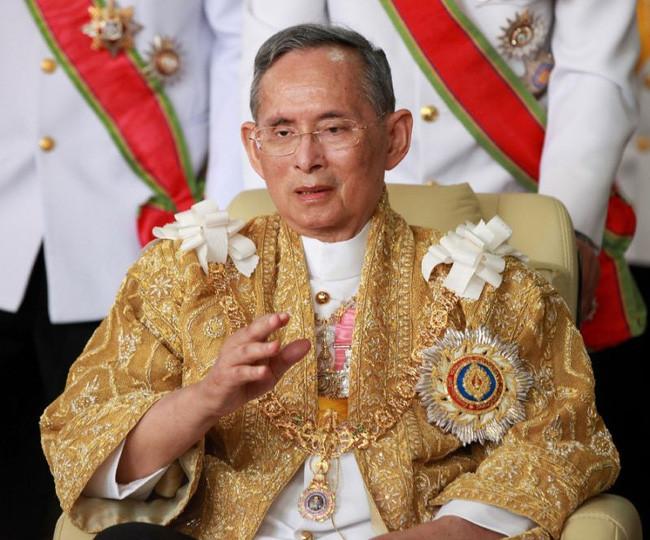 Hình ảnh Quốc vương Thái Lan - Bhumibol Adulyadej.