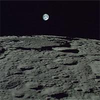 Hình ảnh kỳ thú của Trái Đất chụp từ Mặt Trăng