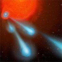 Những quả cầu plasma siêu nóng phóng ra từ ngôi sao hấp hối