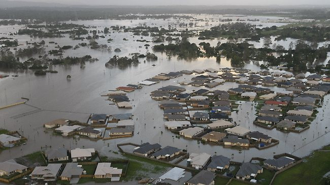 Không chỉ bão tố, tuyết tan ở các nước ôn đới cũng là nguyên nhân gây ra hiện tượng lũ lụt.
