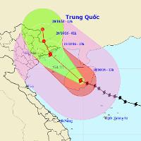 Ảnh hưởng của bão số 7, chiều tối nay Hà Nội có mưa to