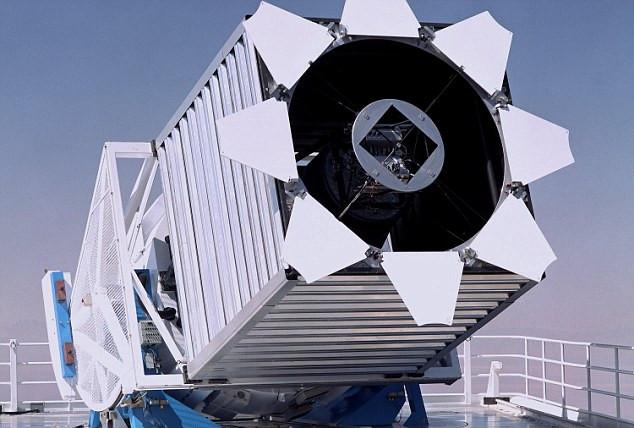 Đài quan sát Sloan Digital Sky Survey tại Mexico.