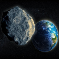Thiên thạch to bằng quả núi có thể đe dọa Trái Đất