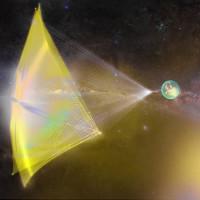 Thuyền buồm vũ trụ dùng laser để di chuyển với tốc độ cực nhanh
