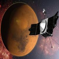 Bề mặt cực tím tuyệt đẹp của sao Hỏa từ ảnh vệ tinh