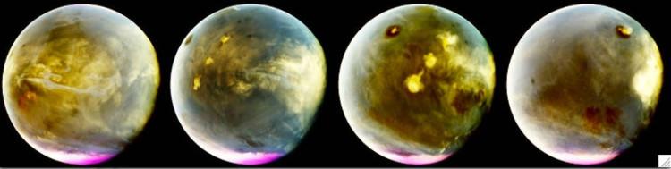 Bề mặt sao Hỏa trong 7 giờ quay vào ngày 9 và 10/7