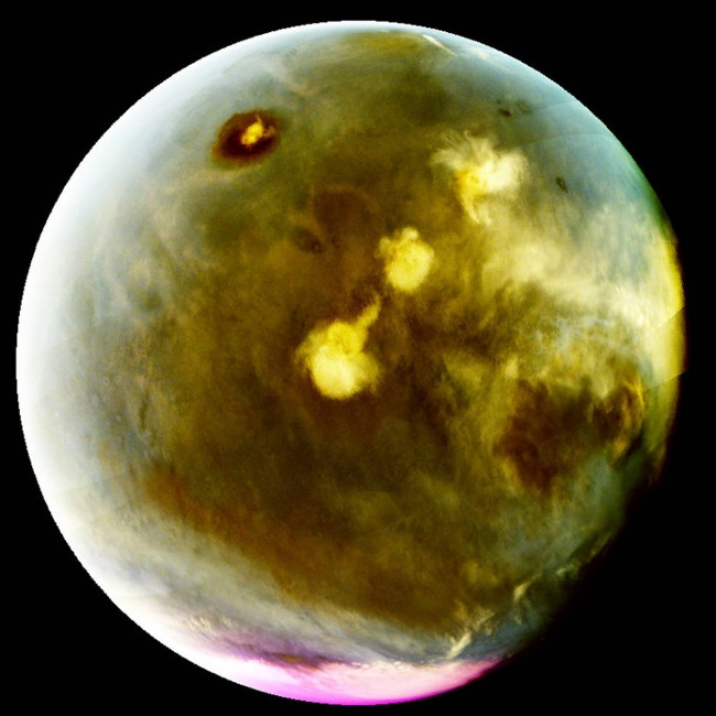 Hình ảnh vô cùng sắc nét về bề mặt phủ tia cực tím của sao Hỏa