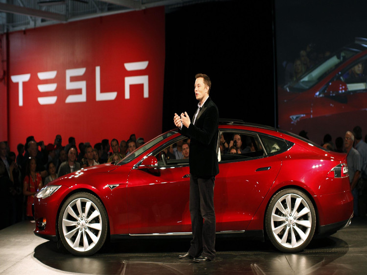 CEO Tesla, ông Elon Musk.