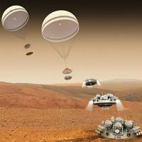 Robot đổ bộ sao Hỏa mất liên lạc với Trái Đất