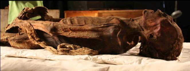 Nhiều khả năng xác ướp la hét bị nguyền rủa phải sống vĩnh viễn dưới địa ngục.