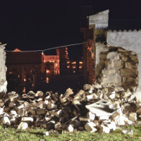 Ba trận động đất liên tiếp rung chuyển miền Trung Italy