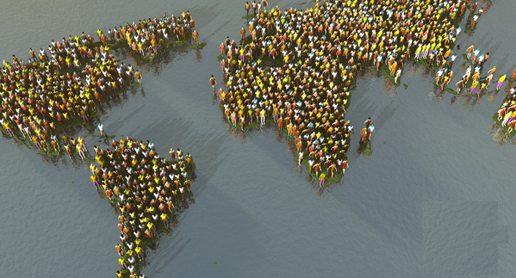 Thế giới đang ngày càng khan hiếm lương thực trong khi dân số lại càng tăng.