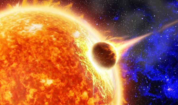 Một sao chổi đủ lớn để chống lại được tác động khủng khiếp của Mặt trời là hiếm nhưng không phải không có.