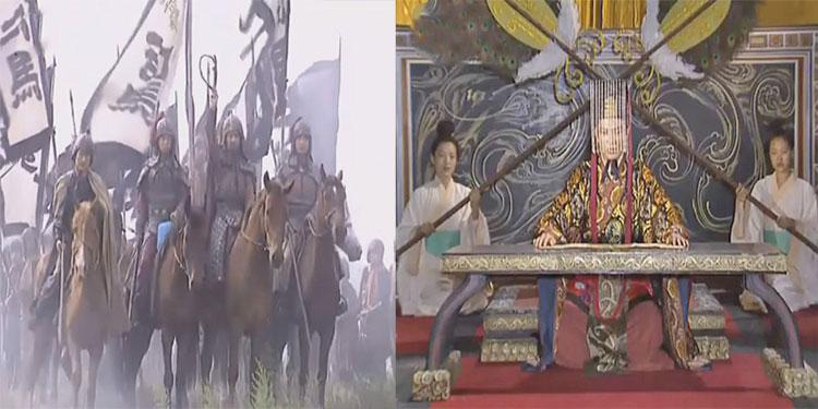 Tư Mã Ý phụng lệnh, đem quân đi chống Thục quân.