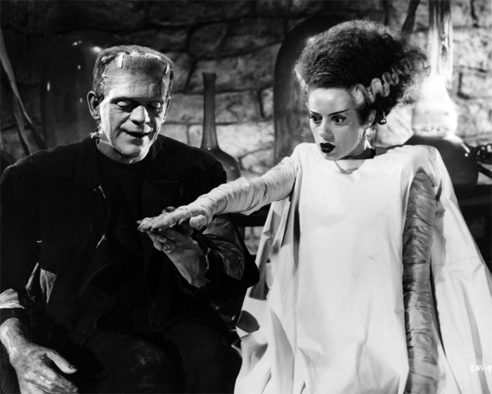"""Trong tiểu thuyết, con quái vật đã yêu cầu Frankenstein tạo ra một """"cô dâu"""" cho hắn với lý do hắn quá cô đơn"""