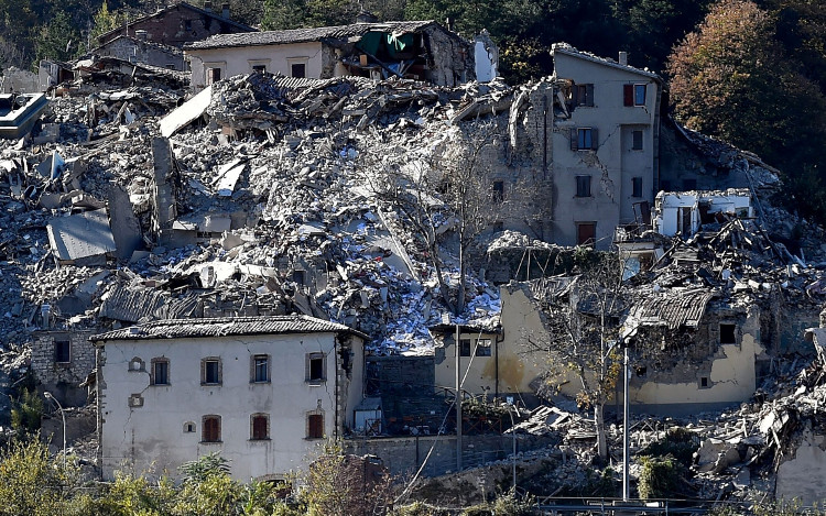 May mắn không ai thiệt mạng trong trận động đất này.