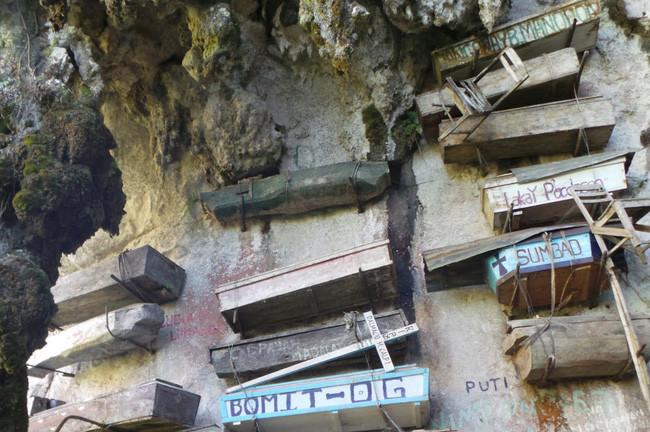 Vách đá treo đầy quan tài, Philippines
