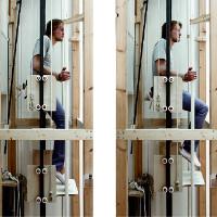 Vertical Walking - Hệ thống di chuyển lai giữa thang máy và thang bộ