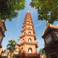 Chùa Trấn Quốc vào top những ngôi chùa đẹp nhất thế giới