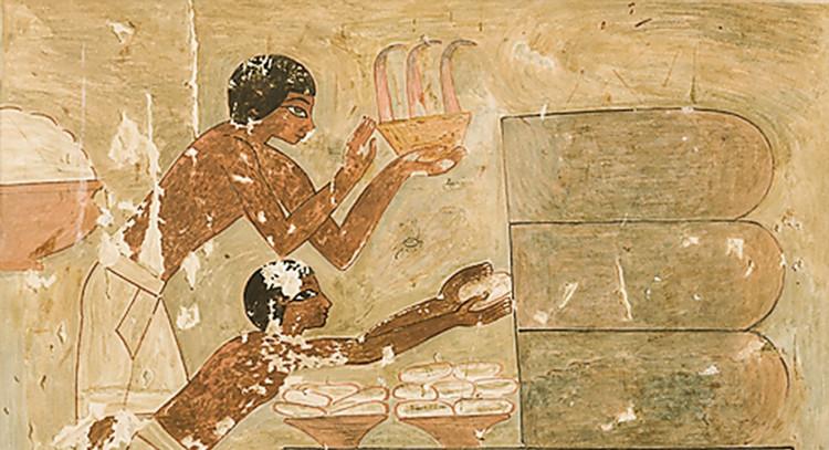Người Ai Cập cổ đại đã phát minh ra kẹo bạc hà để đối phó với những mùi khó chịu do mắc các bệnh về răng miệng.