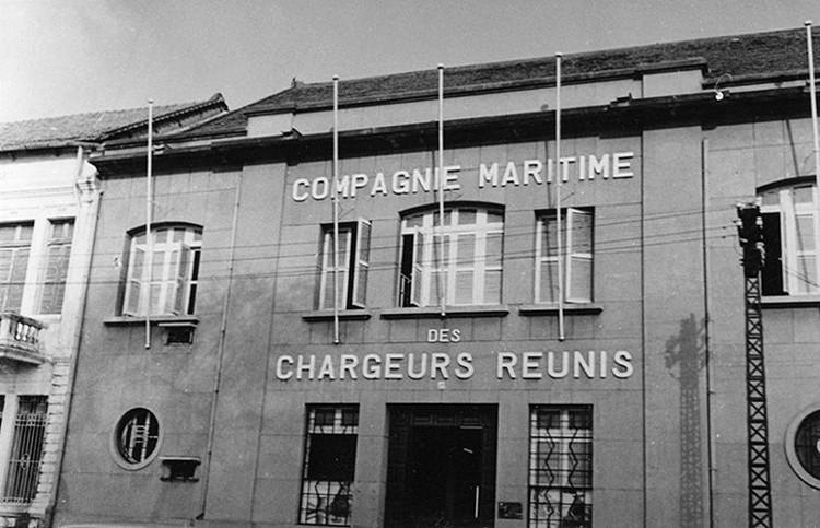 Trụ sở Hãng vận tải tàu biển Chargeurs Réunis trên Bến Bạch Đằng.
