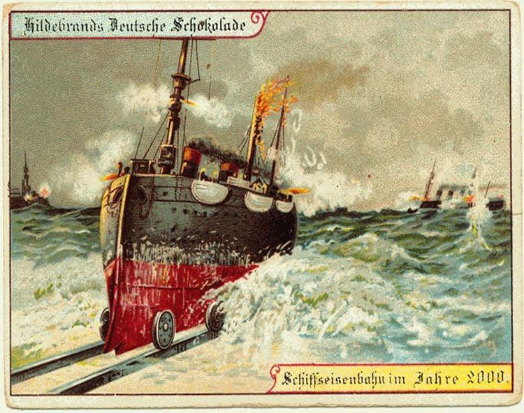 Đường ray cho tàu biển