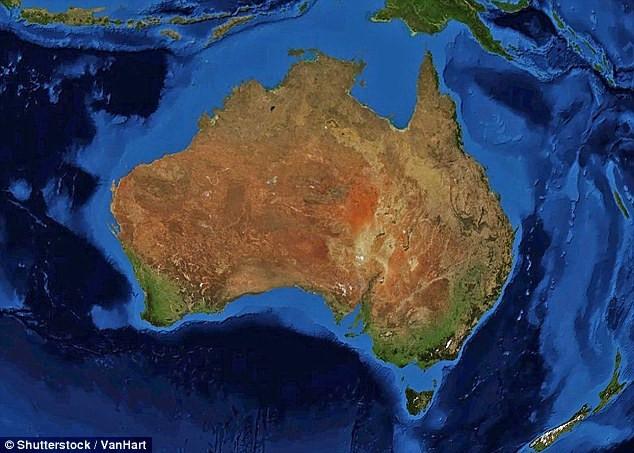 Lục địa Australia.
