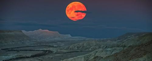 Siêu Mặt trăng ở Israel