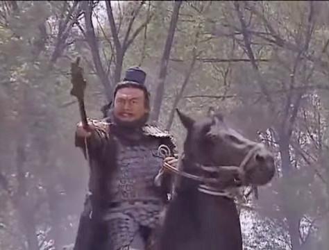 Trương Phi xuất chiến đánh Lã Bố.