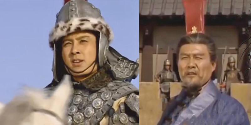 Mã Siêu và Hàn Toại, hai tướng chủ lực của quân Tây Lương.