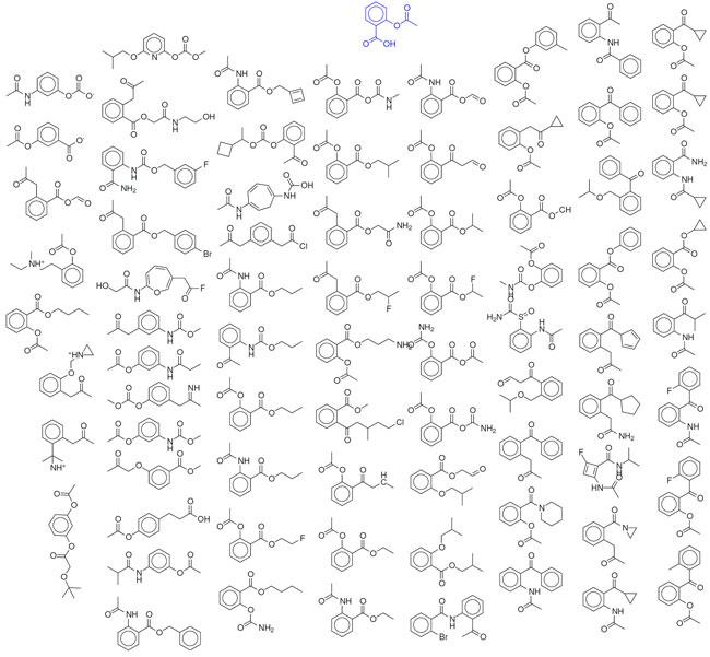 Hệ thống của Giáo sư Aspuru có thể tạo ra hàng tỷ tỷ phân tử.